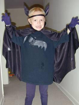 Костюм летучей мыши для мальчика своими руками